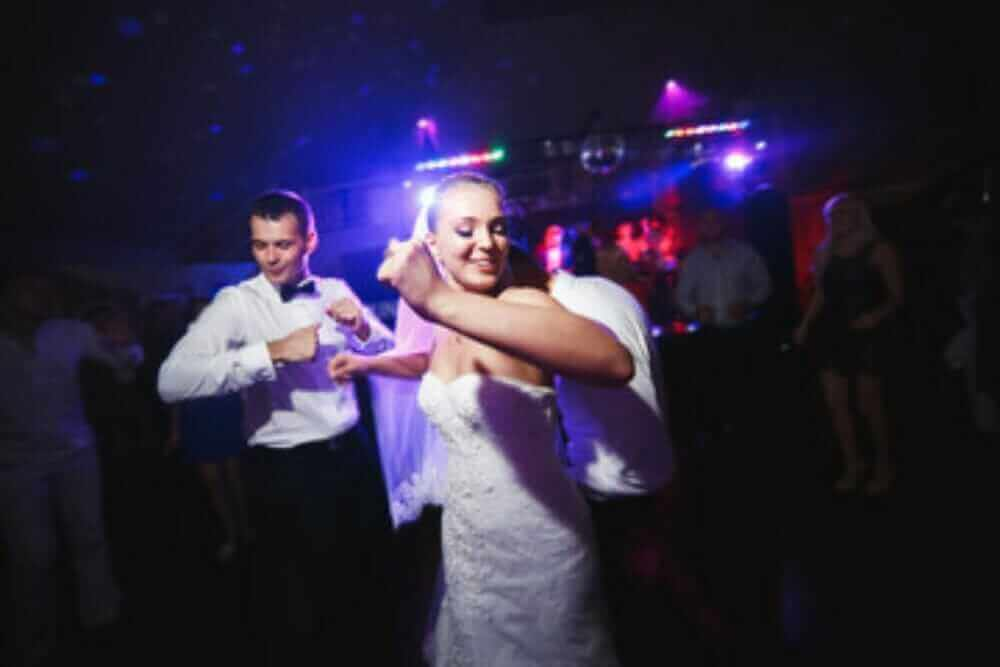 the bride can have a great time